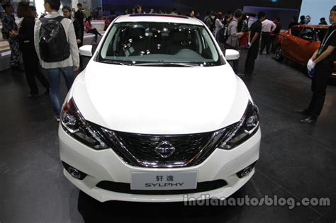 2016 Nissan Sylphy At Auto China 2016 Front Indian Autos
