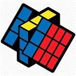 Cube Rubik Icon Puzzle Solving Position Children