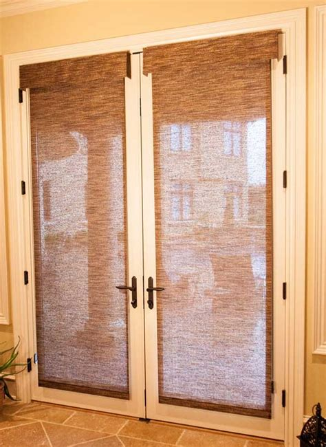 shades for doors as door innovations ideas for your