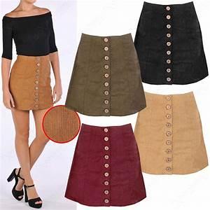A Line Brown Skirt   Fashion Skirts