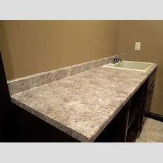 Formica Belmonte Granite With Waterfall Edge  New House