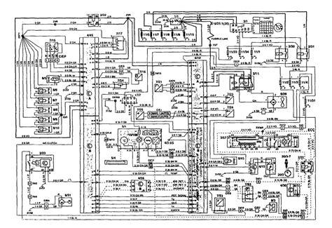 1995 Volvo 850 Wiring Diagram by Volvo 850 1995 Wiring Diagrams Fuel Controls