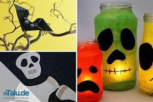 Bastelideen Für Halloween : deko f r halloween basteln 3 gruselige ideen f r kinder ~ Lizthompson.info Haus und Dekorationen
