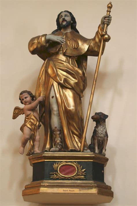 cuisiner st roch file statue de roch mazargues jpg wikimedia commons