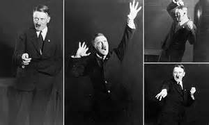Images Of Hitler Show The Dictator Rehearsing His Public