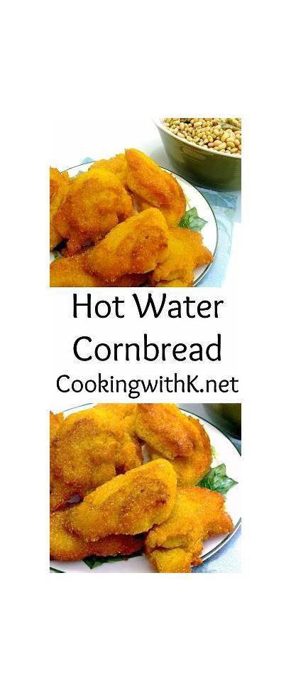 Cornbread Water Recipe Fashioned Recipes Bread Fried
