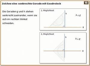 Senkrechte Gerade Berechnen : grundkonstruktionen mittelsenkrechte und winkelhalbierende konstruieren ~ Themetempest.com Abrechnung