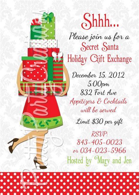 items similar  secret santa holiday gift exchange