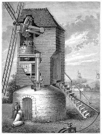 Windmill 1600 Illustrations Px Oldbookillustrations