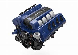 Mercury Racing Reveals SB4 7 0 Automotive Crate Engine Mercury Racing