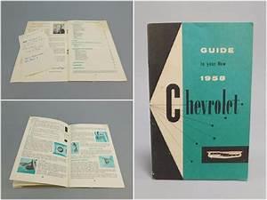 Guide To Your 1958 Chevrolet  Original 1950 U0026 39 S Vintage