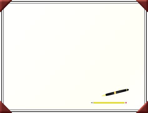 transparent desk pad desk clipart border pencil and in color desk clipart border