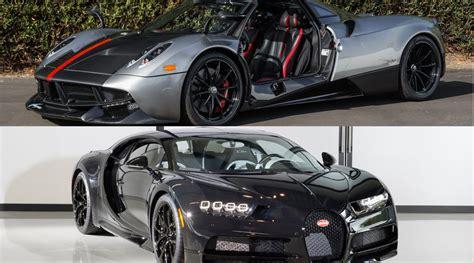 A Bugatti Chiron And Pagani Huayra Sold Via Bitcoin
