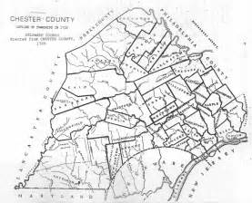 Chester County PA Map