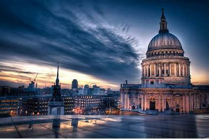 Paul Cathedral London Pauls Sunset Londra Saint