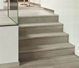 sols quick step guide de pose des escaliers en quick step With parquet escalier