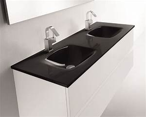 salle de bain etroite et longue 10 meuble double vasque With meuble salle de bain arrondi