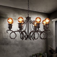 Industrial Style Steel Lighting Living Room, Study, Dining