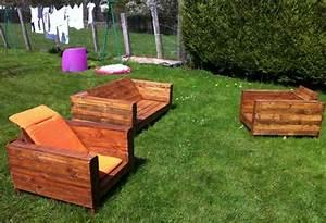 Bricolage Creer Du Mobilier De Jardin Avec Des Palettes