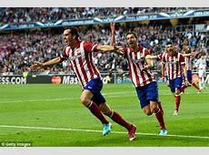 Diego Godin Vardy would get in the Atletico Madrid team