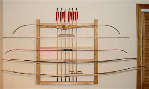 bow arrow rack plans plans diy   quick easy