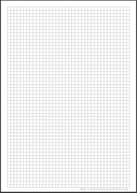 schedarionline - Quadretti 0,5 cm