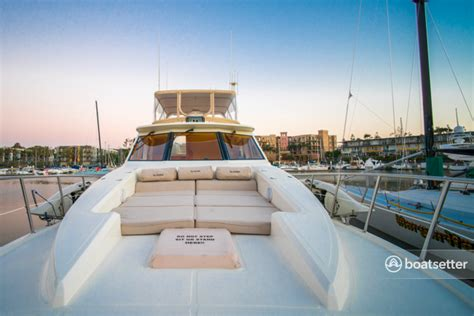 Boatsetter Los Angeles by Rent A 2000 57 Ft Mckinna Pilothouse Motoryacht In Marina
