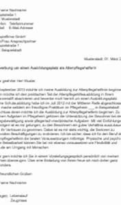 Bewerbung Als Aushilfskraft : bewerbungsschreiben altenpflegehelferin ~ A.2002-acura-tl-radio.info Haus und Dekorationen