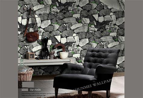 modern rustic  cyan granite rock stone  wallpaper