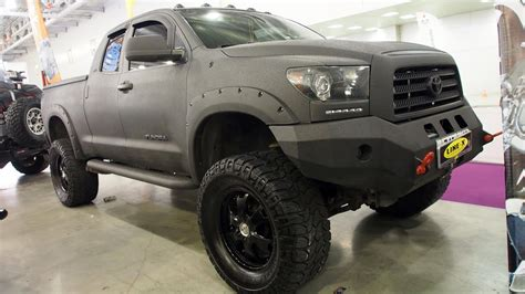 Toyota Tundra Offroad Tuning Lifted Truck Line-x