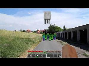 Minecraft Real Life Zombie Army YouTube