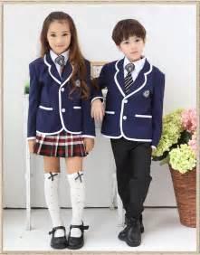 Back To School Uniform Boy Or Girl Contain Jacket Shirt Skirt Tie Badge Primary School Student School Uniform Set 100-150CM New