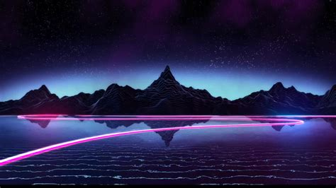 1440p Animated Wallpaper - synthwave gifs search search on homdor