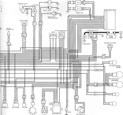 Wiring Diagrams Honda Cbr Kappa Motorbikes