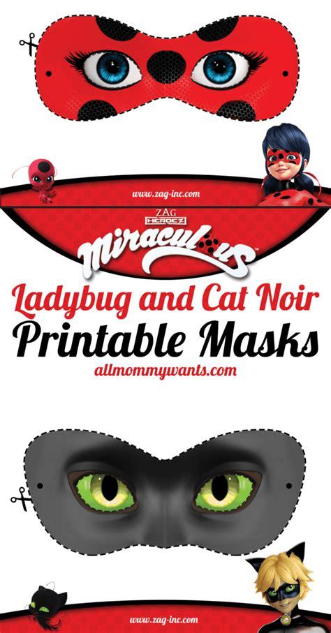 printables miraculous adventures  ladybug  cat noir