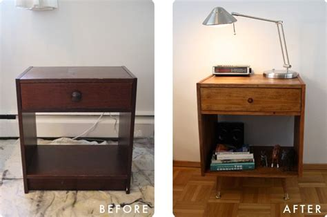 nightstand makeover to mid century modern rast ikea hack for the home ikea
