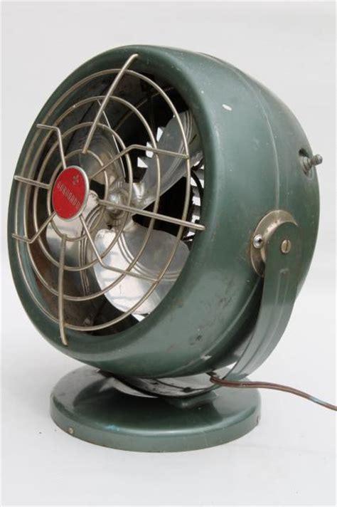 vintage Coronado electric fan, mid century modern retro