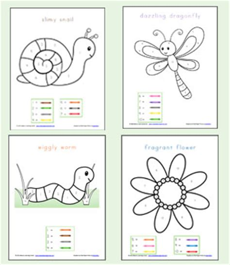 Coloring Pages Color By Numbers On Pinterest  Preschool Worksheets, Hidden Pictures, Free