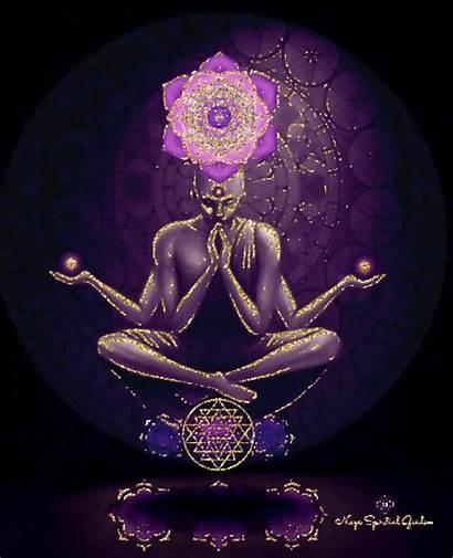 Meditation Spells Kundalini Animated Visualized Chakra Gifs