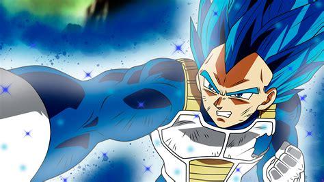 anime dragon ball super vegeta ssj blue full power hd
