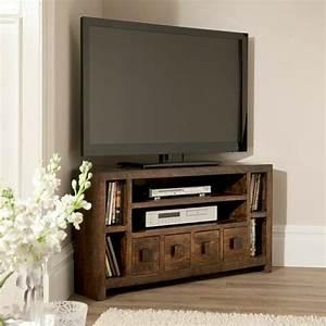 Table Pour Tv : meuble d 39 angle tv id es d 39 am nagement int rieur ~ Teatrodelosmanantiales.com Idées de Décoration
