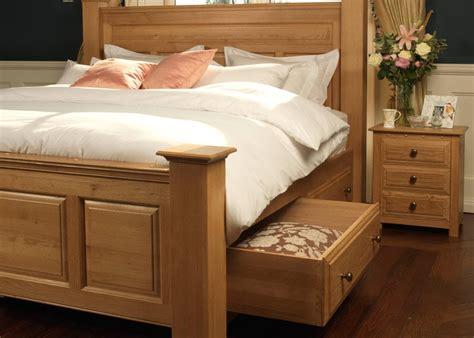 large solid wooden bed ambassador