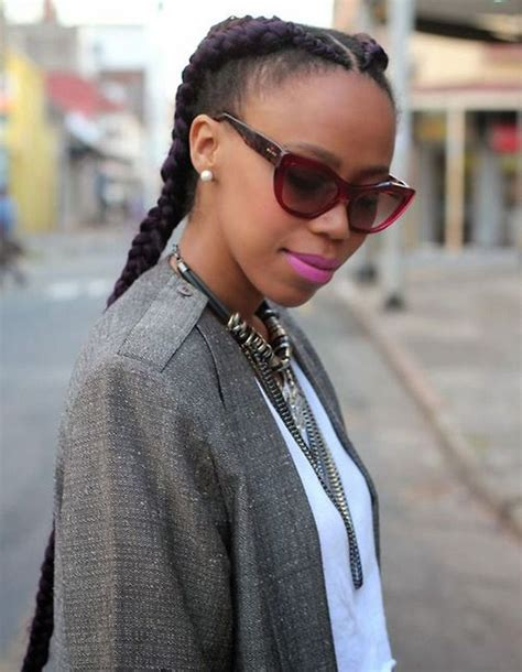 coiffure pour cheveux afro hiver  coiffures afro