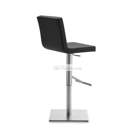 chaise de bar reglable tabouret bar design afro par domitalia