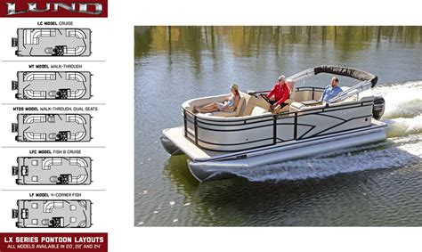 Lund Pontoon Boats by Lund Launches New 2017 Lx Pontoon Series Lund Boats