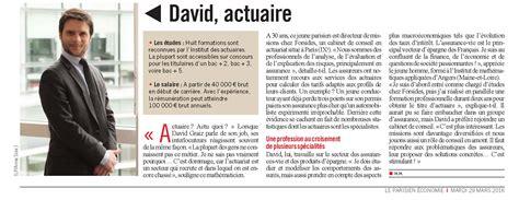 cabinet de conseil en actuariat le parisien rencontre avec d graiz forsides
