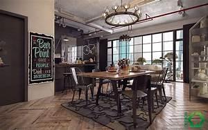 Come Arredare una Sala Da Pranzo in Stile Industriale MondoDesign it