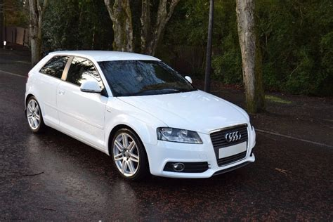 Audi A3 2009 by Audi A3 S Line 2009 1 6 Tdi Ibis White 3 Door In
