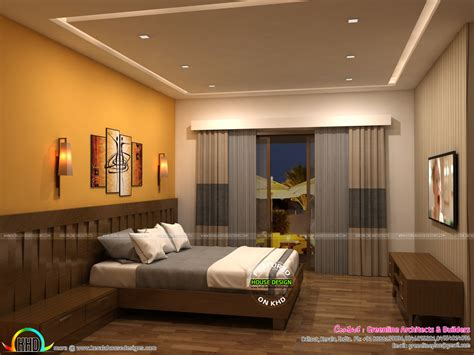 Luxury contemporary master bedrooms beautiful 27 excellent modern master bedroom interior. Living room and Master bedroom interior designs - Kerala ...
