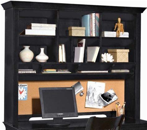 Office Desk No Assembly Required by Desk Hutch Black By American Drew 682 50 Assembly